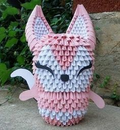 3D Origami | Origami and PaperCraft – PaperCraftCentral.net - Part 4