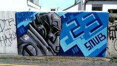 Robot #Brighton #streetart #brightongraffiti #paintedcity