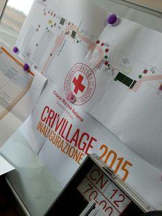 Ultimi giorni... #CRIvillage15 #Cuneo #CRI