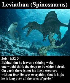 behemoth dinosaur in bible matches exact description of a