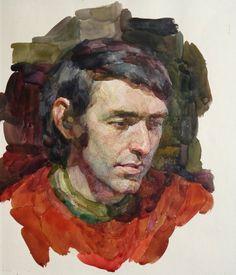 Рисунок и акварель Нины Моисеевны Клейн (1950 - 2012- принадлежит к поколению Чистяковцев.,ученица дочери Савинского.