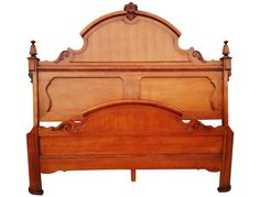 Shop Chairish, the design insider's source for the very best in vintage and contemporary furniture, decor and art. Headboard Makeover, Headboard And Footboard, Victorian Bed, Victorian Furniture, Furniture Ideas, Bedroom Furniture, Lexington Furniture, Bedding Shop, King Beds