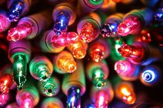 I am sooooooo obsessed with Christmas Lights that Ricky has to literally drag me away kicking and screaming from the Christmas light aisles during the holidays or else our entire home would be filled with them that we'd have no actual room to LIVE in it