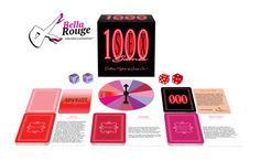 100 Sex Games: Let the fun begin! You will always have a new sex game to play with 1000 Sex Games! 1000 Sex Games combines rounds of foreplay, passionate lovemaking, and sexy plot twists.  #SexGame #1000SexGames #Games #Passion