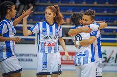 Pescara femminile a punteggio pieno: 9-0 al Real Grisignano