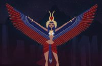 Thoth, the god of wisdom, inventor of writing and the divine mediator. Another Egyptian Goddess gender twist - or rather the high priestess doing the kheperu (assumption of the Godform) in ritual - an interpretation via tumblr. A commissioned...