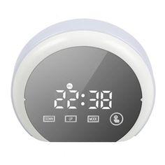 Semicircle Digital Alarm Clock LED Color Change Night Light Mirror Clock Temperature Snooze Electronic Alarm Clock Despertador. Yesterday's price: US $30.99 (27.18 EUR). Today's price: US $20.76 (18.15 EUR). Discount: 33%.
