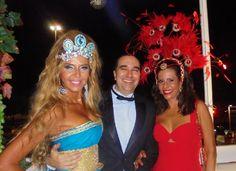 Carnaval de gala! Veja famosos no Baile do Copacabana Palace 2016