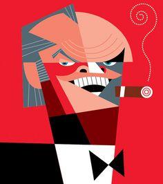 Pablo Lobato, born in Trelew, Patagonia Argentina in 1970, is a graphic designer and illustrator.