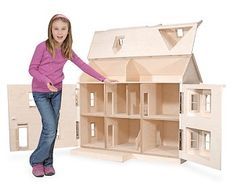 The House That Jack Built - Katherine - Wooden Doll House
