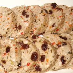 Chicken Embutido is a variation from the traditional pork recipe. Learn how to make this versatile and delicious dish Meatloaf Recipes, Pork Recipes, Embutido Recipe, Beef Lasagne, Chicken Meatloaf, Raisin Recipes, Cheese Ingredients, Smoked Ham, Cheese Recipes