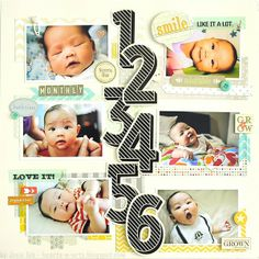 Baby by Month by josieteh @2peasinabucket
