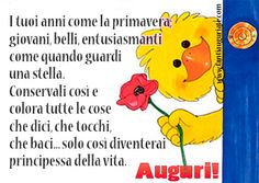 I tuoi anni come la primavera; giovani, belli, entusiasmanti come quando guardi una stella. #compleanno #buon_compleanno #tanti_auguri