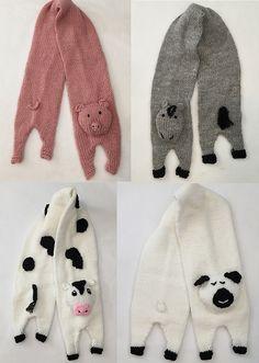 Ravelry: Barnyard Neckscarves pattern by Frugal Knitting Haus