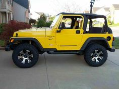 Yellow Wrangler Jeep Wallpaper
