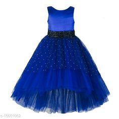 Party Gowns For Kids, Girls Party Wear, Kids Gown, Party Wear Dresses, Frock Dress, Frocks For Girls, Self Design, 4 Years, High Low