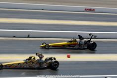 Alan Kenny's 2006 Dan Page Super Comp dragster at the #NHRA Fourwide Nationals 2014