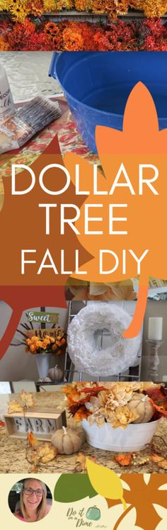 Dollar Tree Fall shop with me (DIY included!)