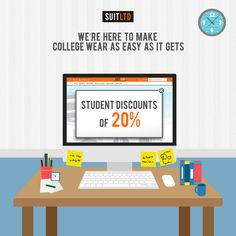 Running on a tight budget? We're here to help you get what you want on the same budget. Introducing our all new student discounts! Watch this space for more information on how you can get and avail this discount. #ChooseSuitLtd #StudentDiscounts #Mensfashion #Onlineshopping
