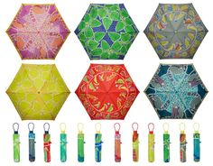 HI(NY) design by Hitomi Watanabe Deluca and Iku Oyamada Umbrellas Parasols, Art Direction, Graphic Illustration, Packaging Design, Design Art, Inspiration, Color, Rain