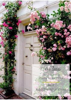 6 Ideas to Create a Pretty Front Door  His