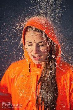 what rhymes with orange Vinyl Raincoat, Pvc Raincoat, Raincoat Jacket, Plastic Raincoat, Imper Pvc, Plastic Girl, Country Wear, Rain Gear, Dancing In The Rain