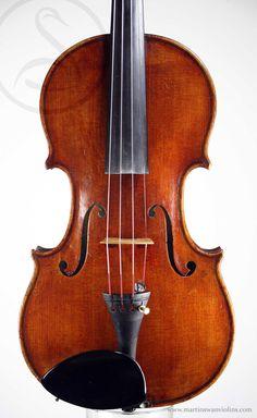 Paul Bailly Violin, London 1890