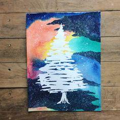"""Galaxy Christmas Tree"""