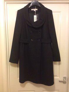 Clements Ribeiro Ladies WOOL spring/autumn/winter coat L UK14 EU40 USA10 BNWT