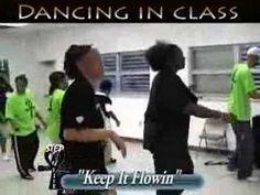 "Step / Line Dance - ""Isley: Keep It Flowin"" Class"