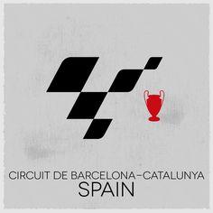 MotoGP Tour Logo: round 7, Spain. #MotoGP #MotoGPTourLogo #barcelona