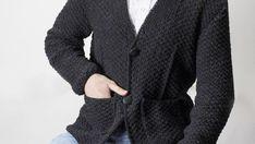 Pandalı Bere Tarifi - Örgü Modelleri Men Sweater, Blazer, Sweaters, Jackets, Women, Fashion, Down Jackets, Moda, Fashion Styles