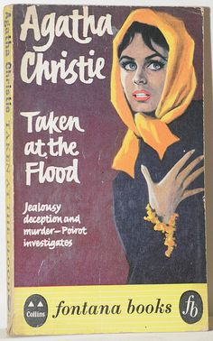 Taken at the Flood by Agatha Christie.  Fontana edition.