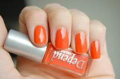 Depend - 124 #nailpolish #neon Orange Nail Polish, Swatch, Neon, Nails, Collection, Finger Nails, Ongles, Neon Colors, Nail