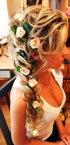Tangled hairstyle