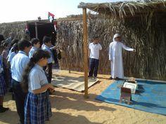 زيارات المدارس للقرية التراثية  زيارة مدرسة زاخر