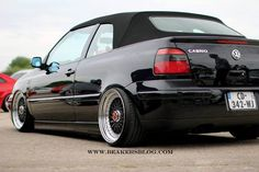 MkIII.5 Golf 4 Cabrio, Vw Golf Cabrio, Golf Mk3, Vw Cabriolet, Bbs Wheels, Convertible, Car In The World, Volkswagen Golf, Cool Cars