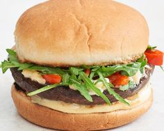 Recipe: Smoky Portobello Mushroom Cheeseburgers — Quick and Easy Vegetarian Dinners