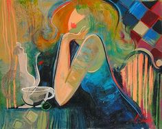 Irene Sheri - Artist from Ukraine - Family Bulgarian mother and French father