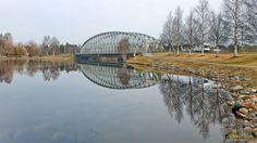 Bridge | 12.5.2010 Oulujoki, Tuira Rautasilta