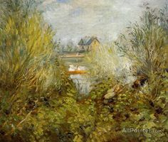 Pierre Auguste Renoir On The Seine, Near Argenteuil oil painting reproductions for sale