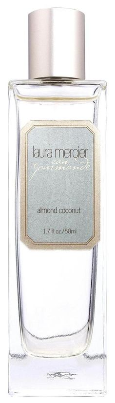 Almond Coconut Milk Eau de Toilette by Laura Mercier-need to find this and try it! Laura Mercier, Vanilla Liqueur, Vanilla Orchid, Flawless Face, Bath And Body, Almond, Perfume Bottles, Delicate, Cosmetics