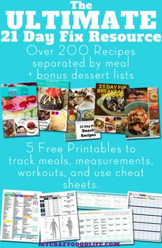 Over 200 recipes & 5 free 21 Day Fix printables all in one h.- Over 200 recipes & 5 free 21 Day Fix printables all in one handy place! Use these to stay motivated and on track while doing the 21 Day Fix or 21 Day Fix Extreme! 21 Day Fix Menu, 21 Day Fix Meal Plan, 21 Day Fix Book, 21 Day Fix Extreme, Fast Metabolism Diet, Metabolic Diet, Cola Truck, 21 Day Fix Recipies, Fixed Menu
