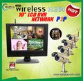 Newly listed H.264 Network & P2P SD Wireless LCD SD DVR Integrated System, Wireless Monitor & Cam kit - Truly Wi-fi friendly, Plug and Play. - Real-time surveillance with precaution of alarm feature - Latest 2.4GHz digital wireless technology - Digital wireless signal transmission up to 100M - Maximum support 32GB SD card for 72hours continous recording.(The kit does not includ the card) - Expendable up to 4 channel wireless cameras ...Learn More