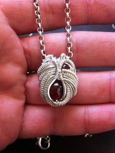 ©Lewis Thulman #wirewrap #jewelry #wirewrapjewelry