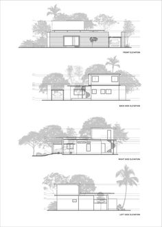 Image 29 of 36 from gallery of Residence in Perinthalmanna / ZERO STUDIO. Photograph by Prasanth Mohan Conceptual Model Architecture, Architecture Drawing Plan, Architecture Life, Architecture Sketchbook, Pavilion Architecture, Architecture Portfolio, Residential Architecture, Architecture Details, Minimal House Design