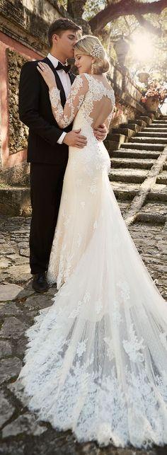 winter Wedding Dress by Essense of Australia Spring 2016 Bridal Collection