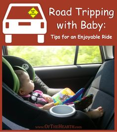 Car travel with an infant poses some challenges, but you can still have an enjoyable road trip. It just takes some creativity and planning!