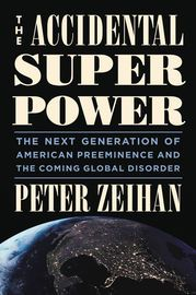 The Accidental Superpower | http://paperloveanddreams.com/book/857944717/the-accidental-superpower | In the bestselling tradition of The World Is Flat and The Next 100 Years, THE ACCIDENTAL SUPERPOWER will be a much discussed, contrarian, and eye-opening assessment of American power. Near the end of the Second World War, the United States made a bold strategic gambit that rewired the international system. Empires were abolished and replaced by a global arrangement enforced by the U.S. Navy…