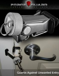 Forceguard: Forceguard Portable Door Lock --- Heinnie Haynes - Knives, Pocket Tools and Accessories